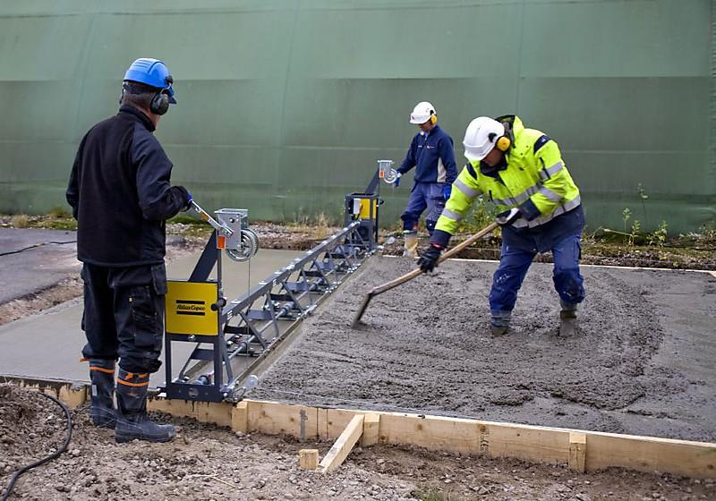 Виброрейки для укладки бетона своими руками видео