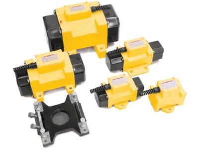 Среднечастотные вибраторы Atlas Copco серии ER с частотой 3000 виб/мин
